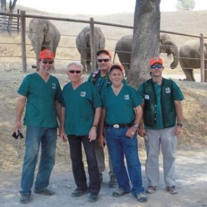 The team at Performing Animals Welfare Society
